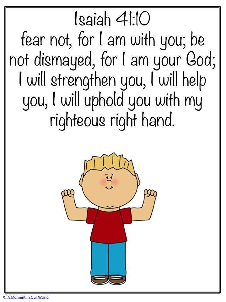 Monday Memory Verse: Isaiah 41:10