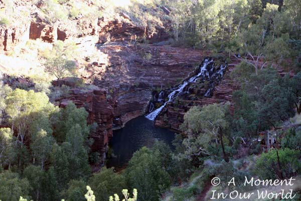 Fortescue Falls Lookout 1