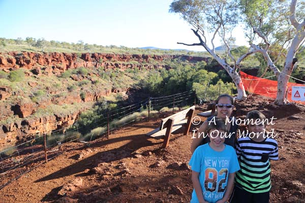 Fortescue Falls Lookout 6