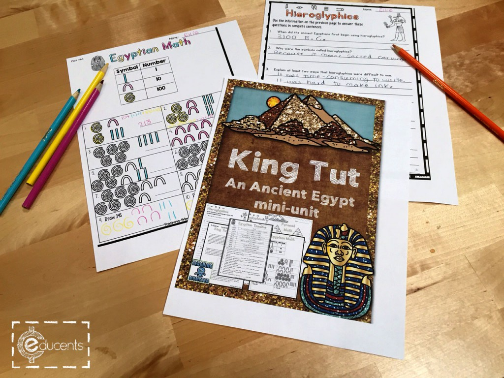 {FREE} Ancient Egypt and King Tut Mini Unit