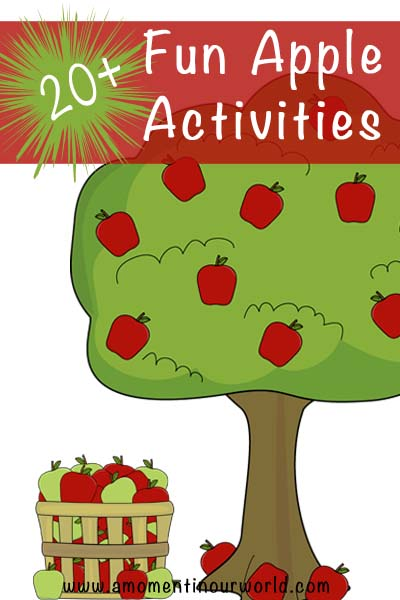 20+ Fun Apple Activities