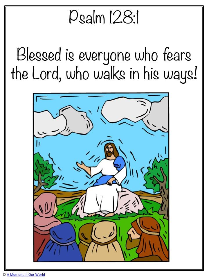 Monday Memory Verse: Psalm 128:1