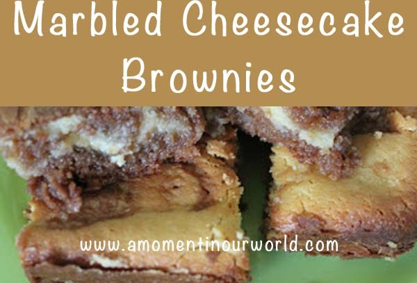 Marbles Cheesecake Brownies A