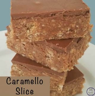 This Caramello Slice is a great no-bake slice that is easy to make and tastes delicious.