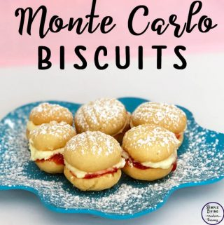 Monte Carlo Biscuits are a favourite in our house and these replicas are so very delicious and taste so very close to the real thing.