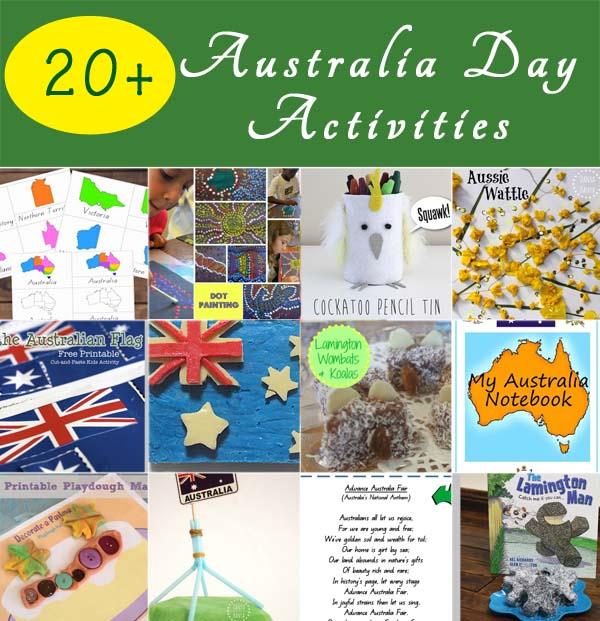 20+ Australia Day Activities