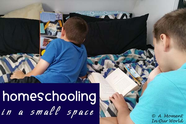 Homeschooling in a Small Space