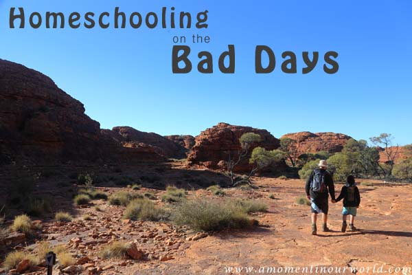 Homeschooling on the Bad Days