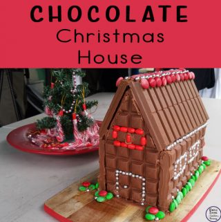 This Chocolate Christmas House is a great alternative to the Gingerbread Houses, especially if you are not a fan of gingerbread.