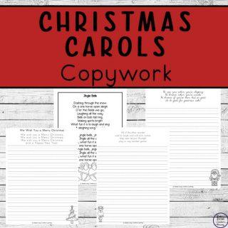 Christmas carols copywork