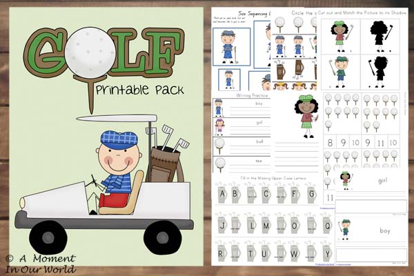 Golf Tots to Prep