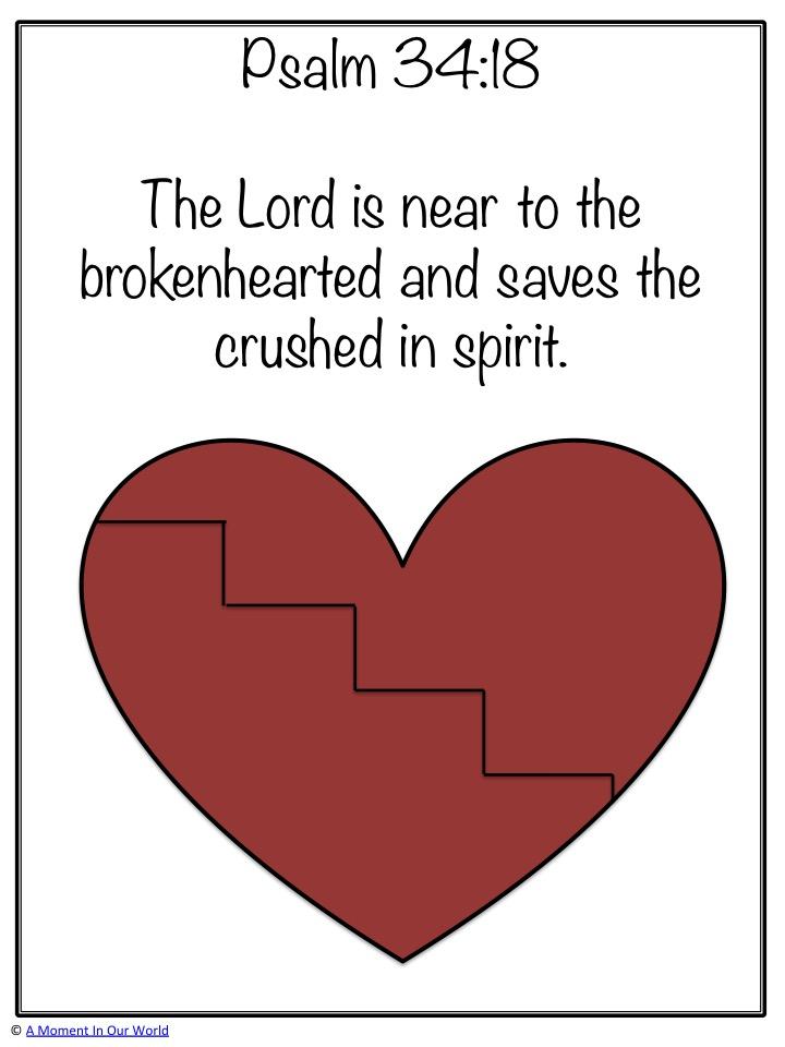 Monday Memory Verse: Psalm 34:18
