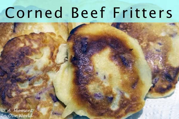 Corn Beef Fritters