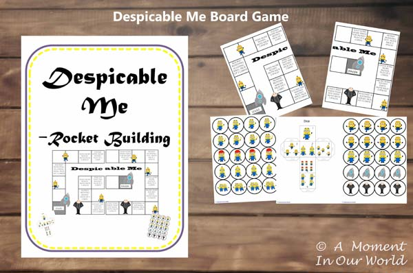 Despicable Me Board Game