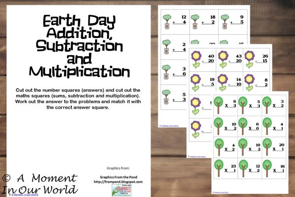 Earth Day Maths
