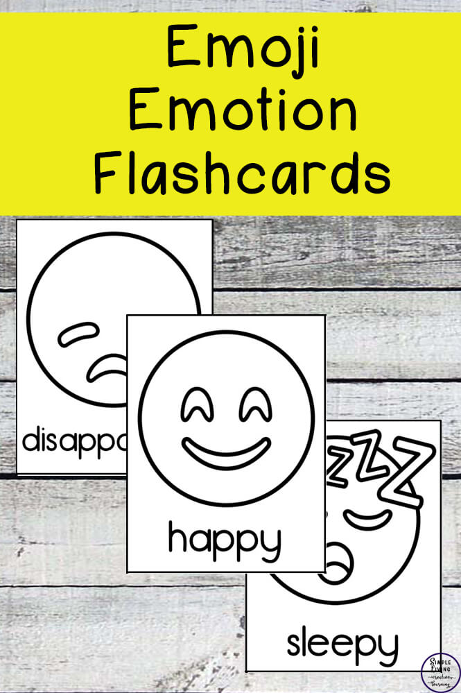 photograph about Emoji Feelings Printable called Emoji Thoughts Flashcards - Very simple Dwelling. Innovative Finding out