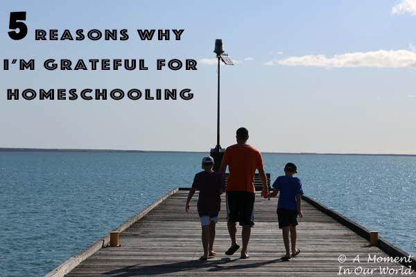 Why I'm Grateful for Homeschooling