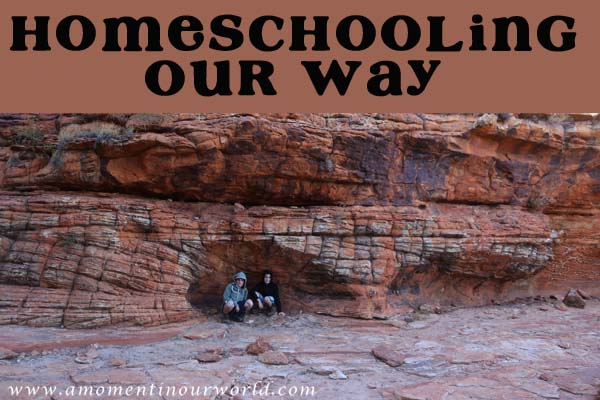 Homeschooling Our Way