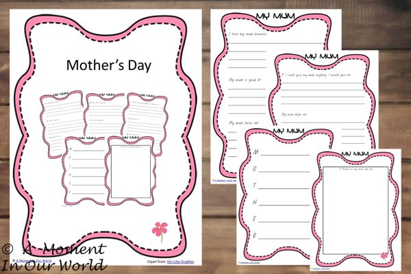 {FREE} Printable Mother's Day Pack