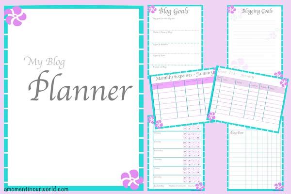 My Blog Planner 1