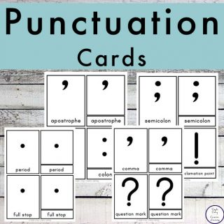 {FREE} Printable Punctuation Cards