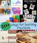 20+ Ways for Learning Fractions