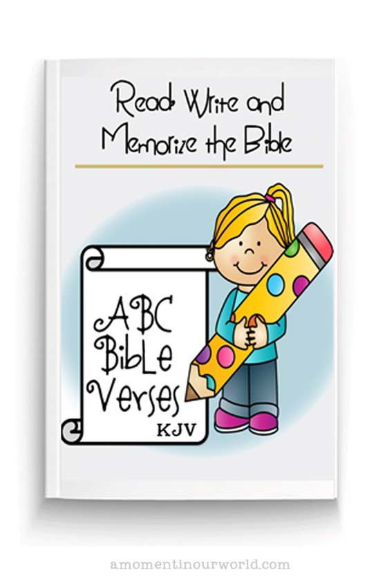 Read, Write and Memorize the Bible - ABC Bible Verses