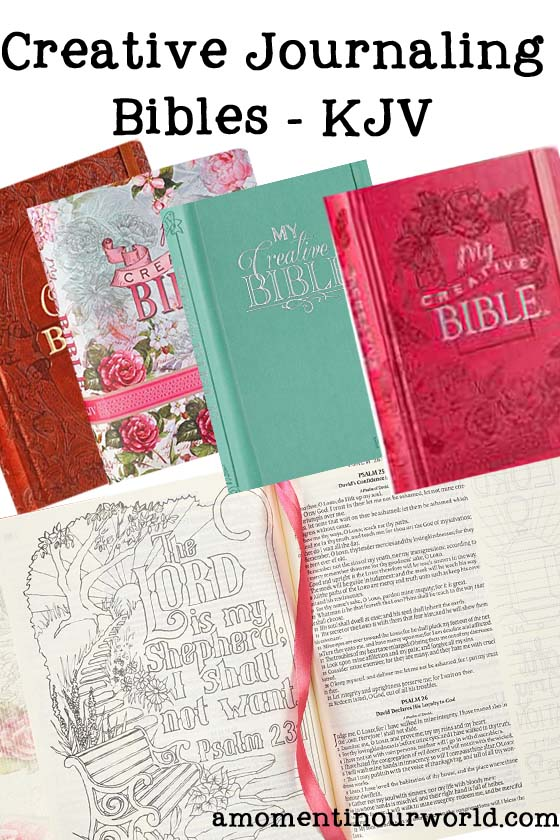 Creative Journaling Bibles a