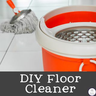 This DIY Floor cleaner will have your floors sparkling clean and your whole house smelling amazing.