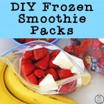 These DIY Frozen Smoothie Packs are so easy to make and taste so yummy.