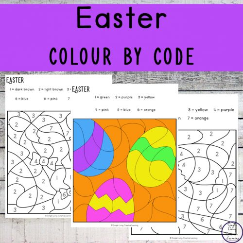 To get into the spirit of Easter, I have created this fun Easter Colour By Code pages.They are an engaging way to practice number and colour recognition while working on fine motor skills.