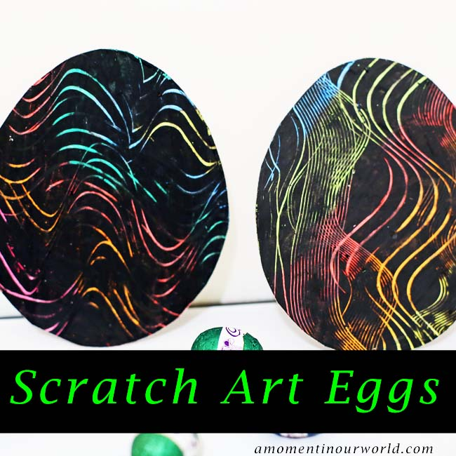Scratch Art Eggs 1