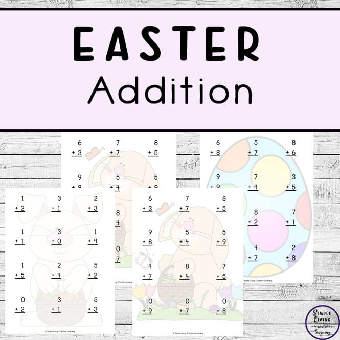 Easter Addition Pages