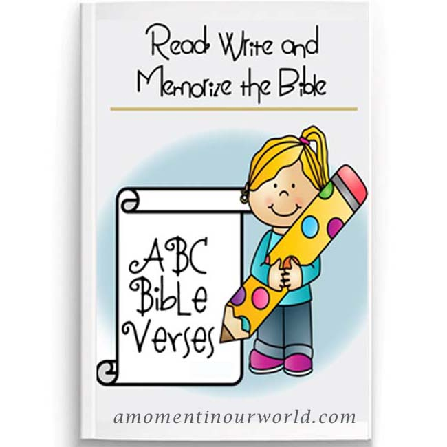 Read, Write and Memorize the Bible