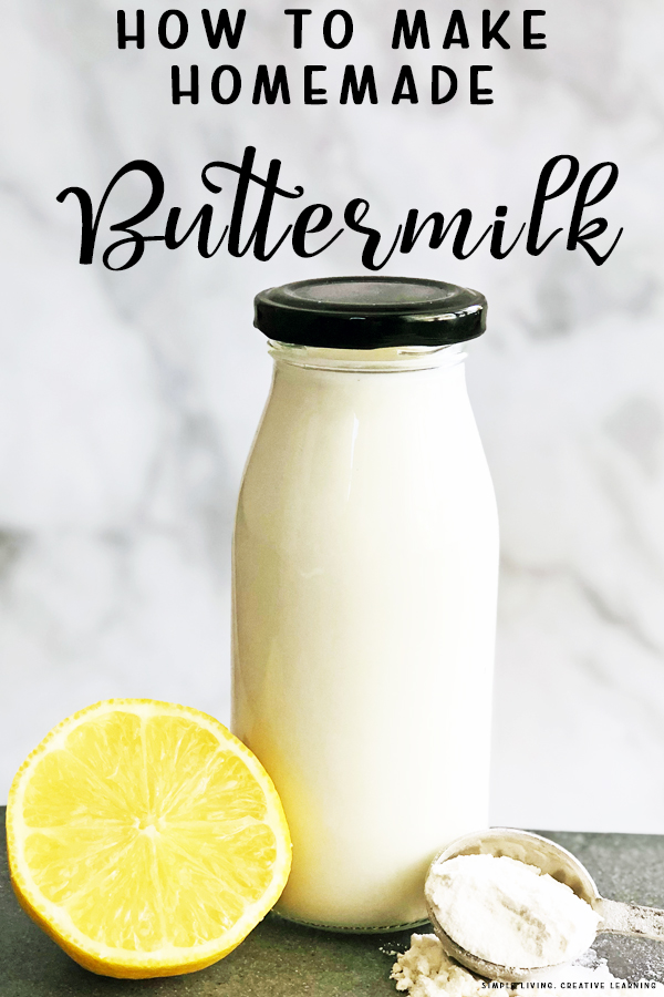 Make Homemade Buttermilk
