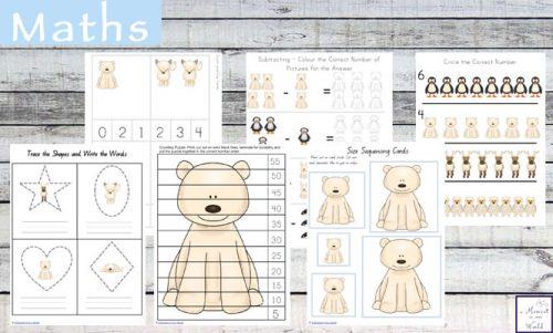 Arctic Animals Tots to Prep Printable Pack