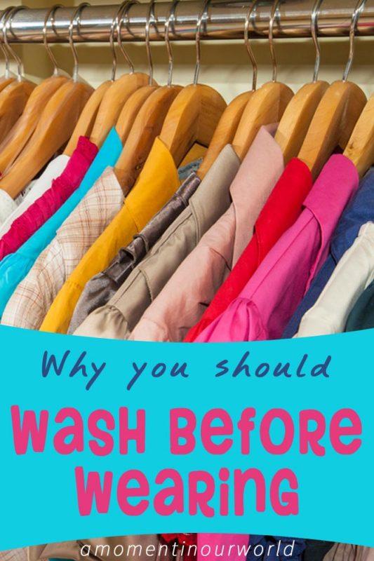 Wash Before Waering