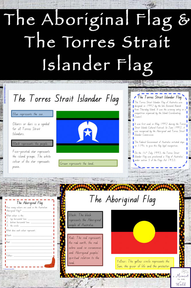 Learn about the Australian Aboriginal Flag and the Torres Strait Islander Flag with this mini study.