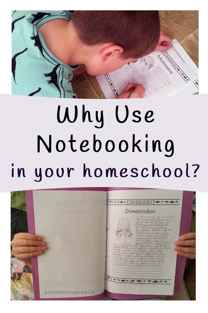 Notebooking in your Homeschool