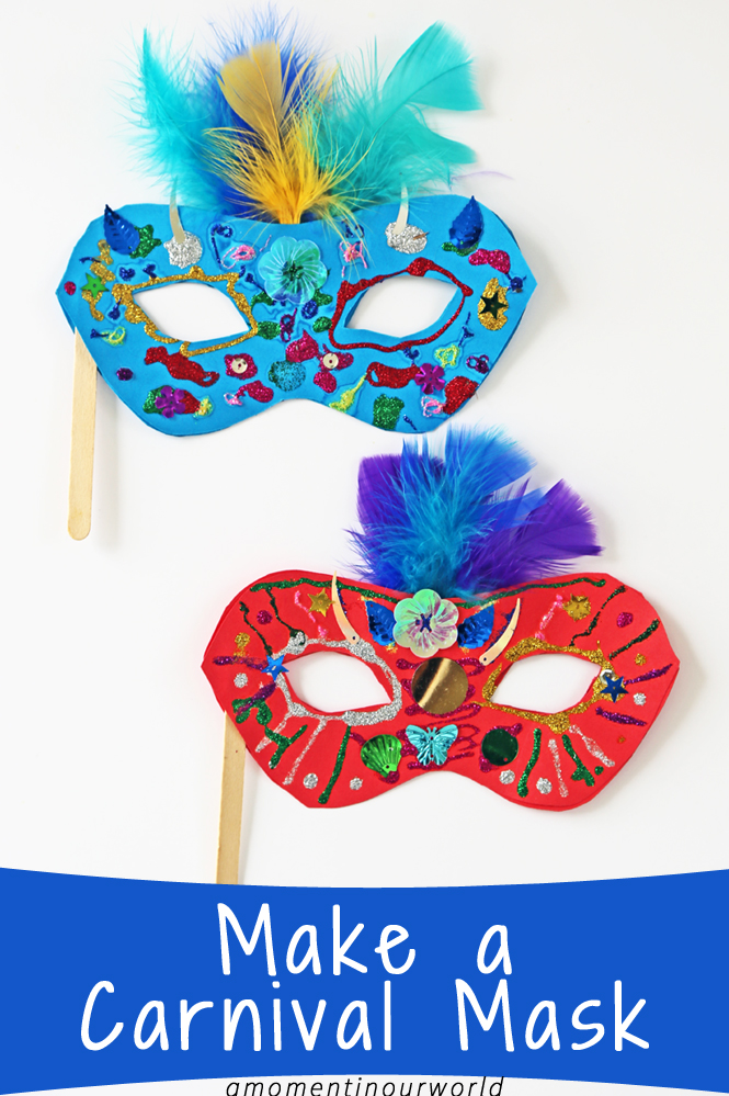 Make a Brazilian Carnival Mask