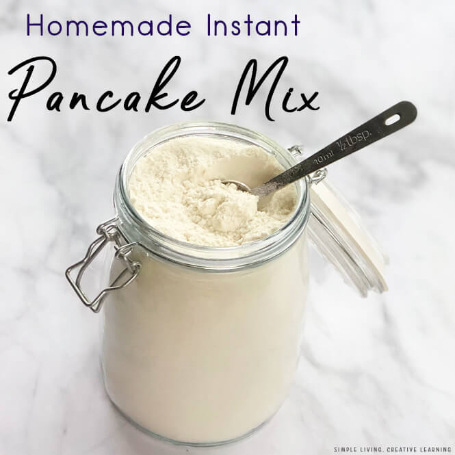 Homemade Instant Pancake Mix