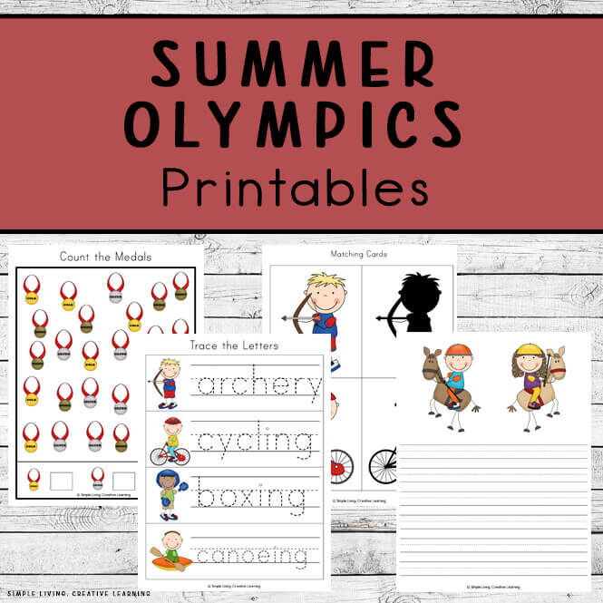 Summer Olympics Printable Pack