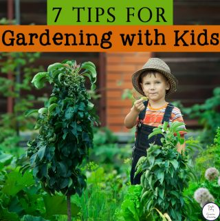 7 Tips for Gardening with Kids
