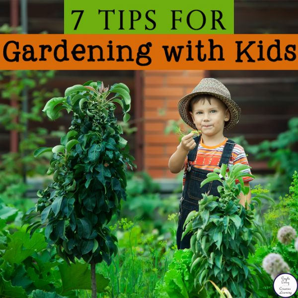 The key is to keep ita fun experience for your kids, allowing them to dig and explore their environment and if they get dirty, so be it! Here are 7tips for gardening with kids!