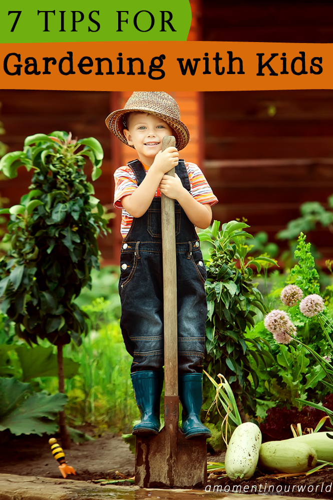 7 tips for gardening with kids simple living creative for Minimalist living with children