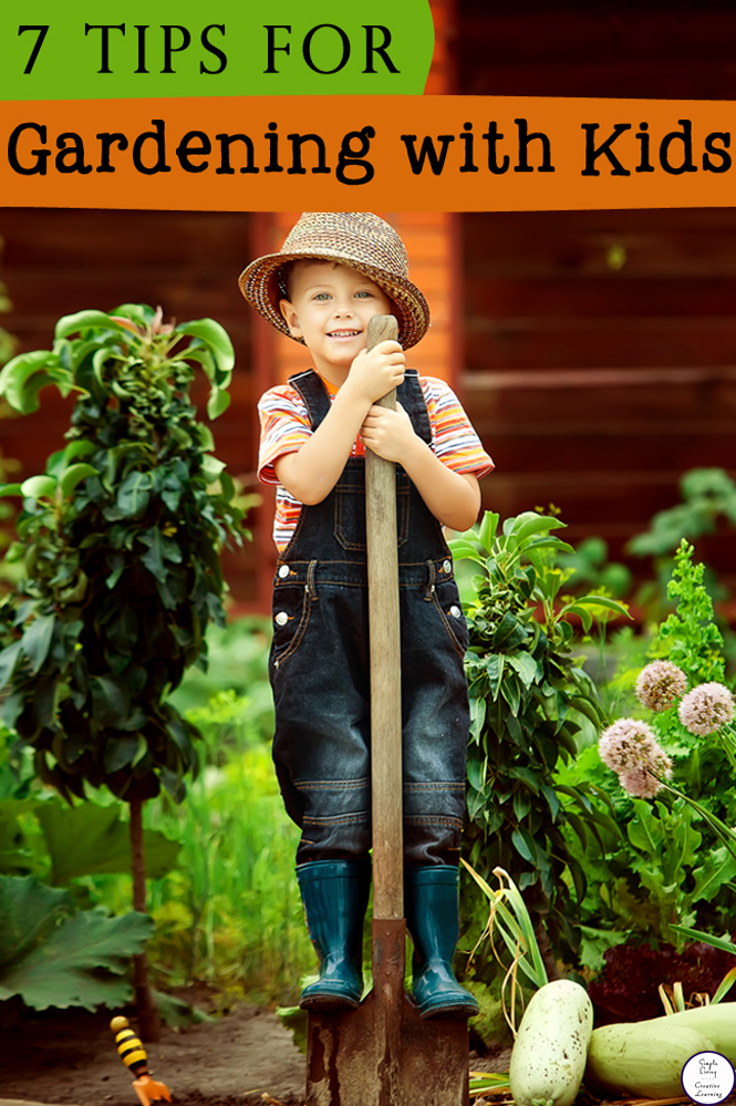 The key is to keep it a fun experience for your kids, allowing them to dig and explore their environment and if they get dirty, so be it! Here are 7 tips for gardening with kids!