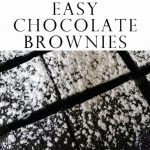 These chocolate brownies are lovely and moist and so easy to make, your kids will enjoy helping in the kitchen before devouring them!