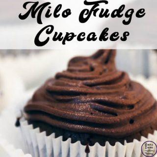 Milo Fudge Cupcakes