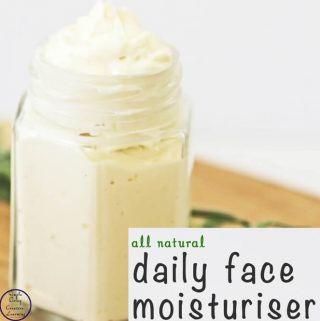 This Daily Face Moisturiser is amazing and works out cheaper that the commercial products It is also a lot better for your skin.