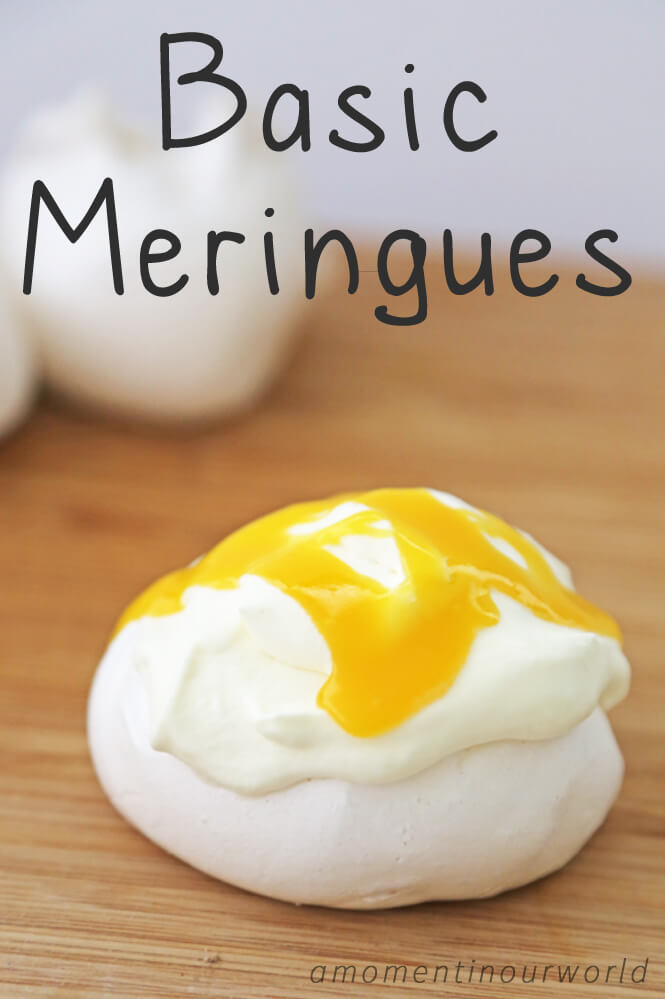 Having trouble making meringues or pavlova? This is an easy recipe to follow and gets great results every time.